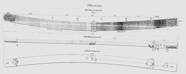 Шашка казачья нижних чинов образца 1904 года